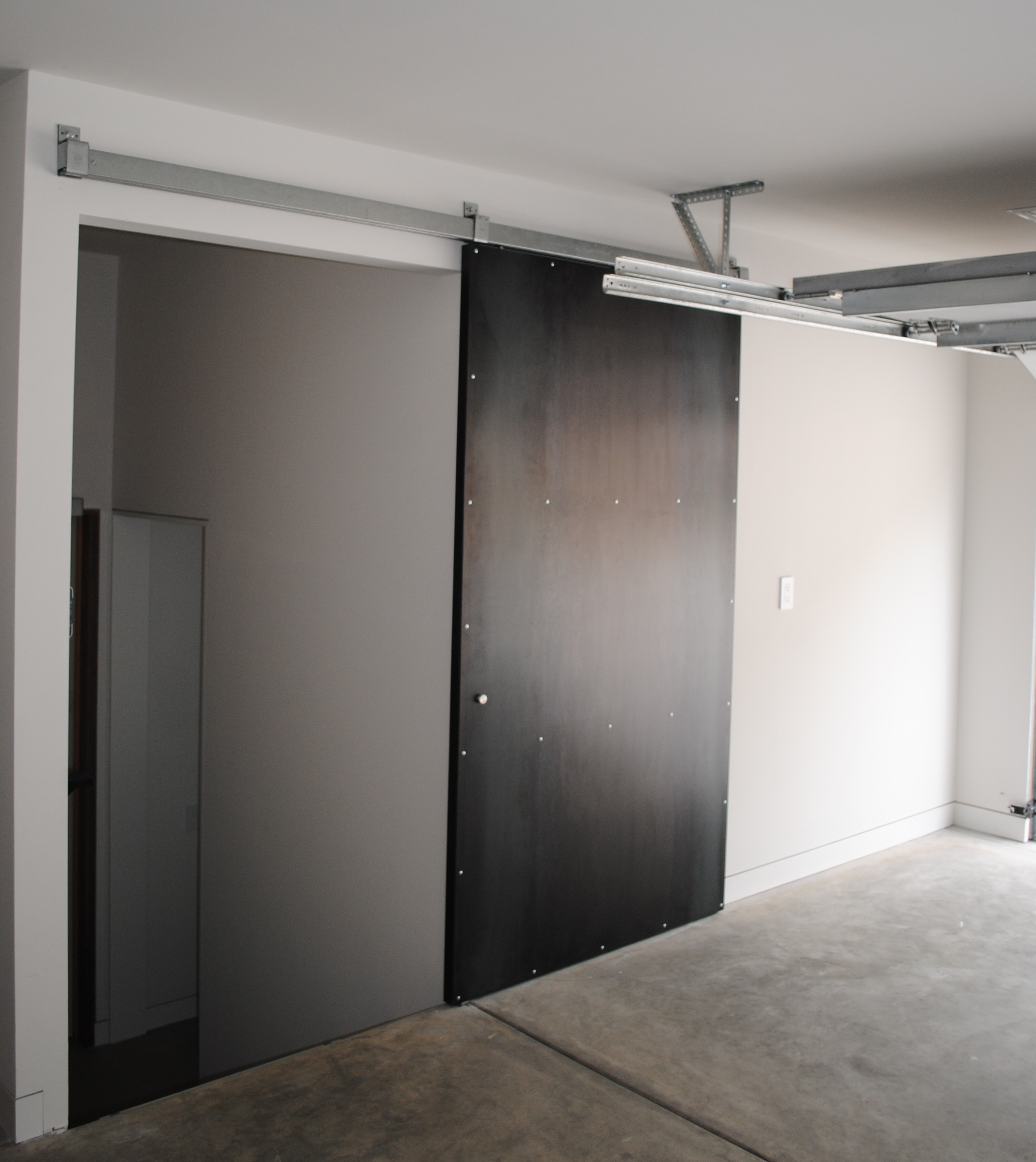 custom metal fabrication make fabrication On steel sliding doors